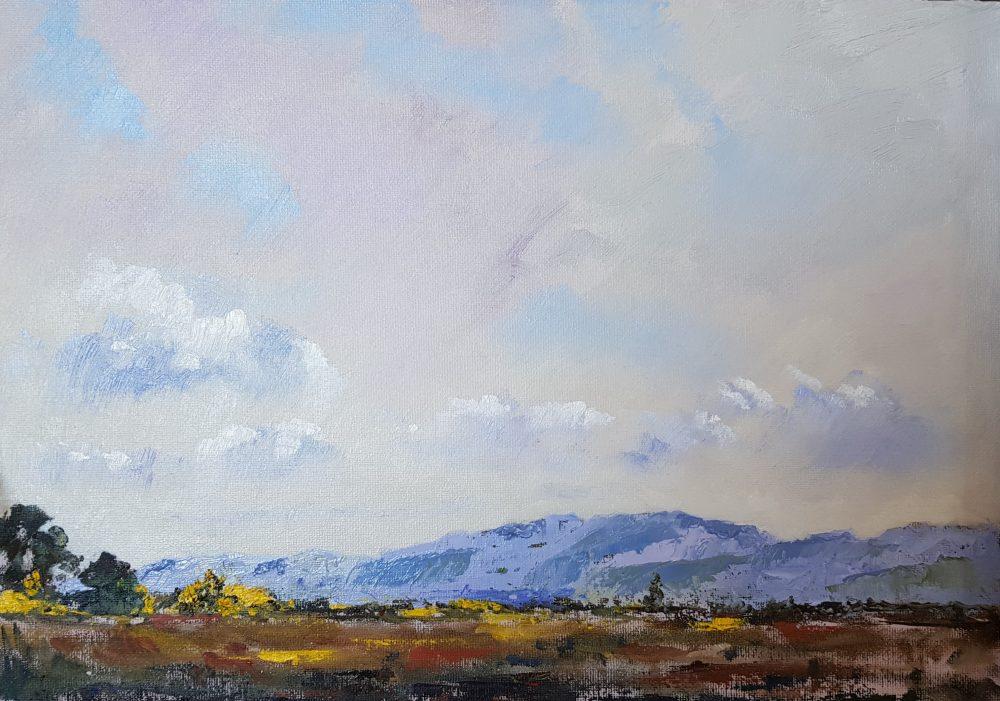Towards the Strathearn Hills - Morning Light
