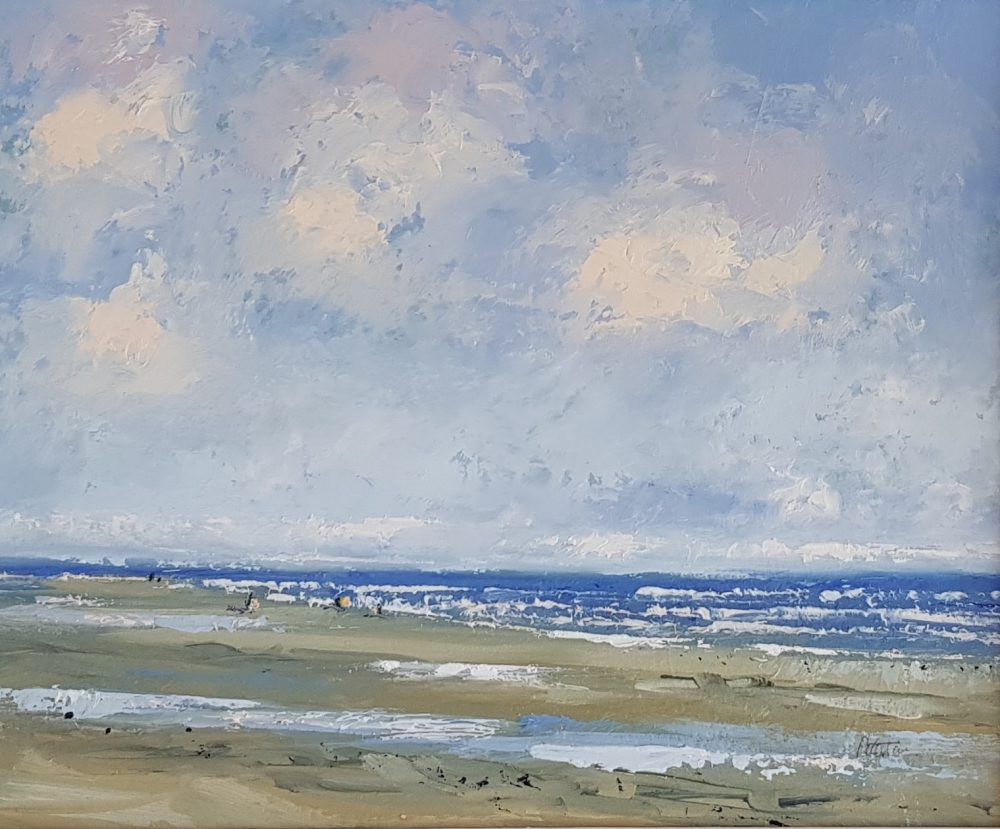 Titchwell Beach Breezy Day