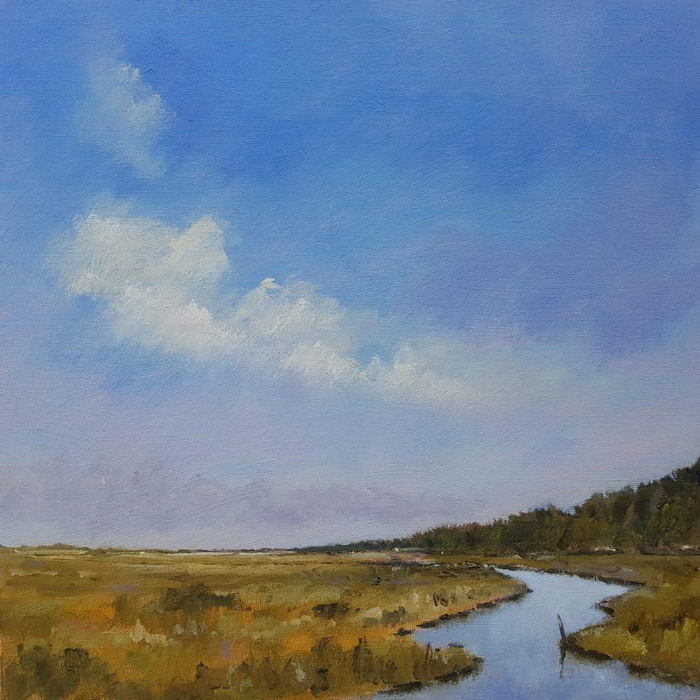 Morning Skies & Reflections Stiffkey Marshes